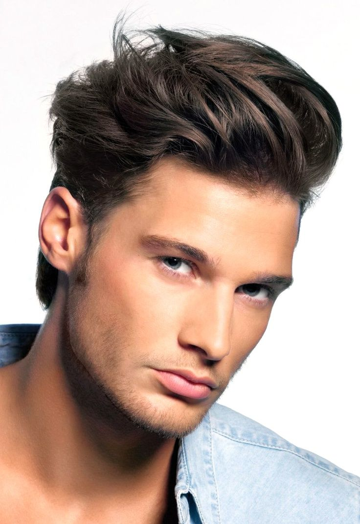 cool hairstyle for boys versus men : simple hairstyle ideas for