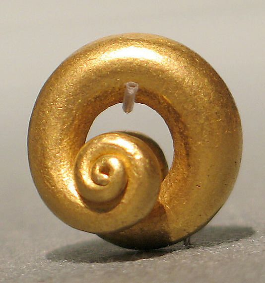 Earring, Central Javanese period Date: 8th–early 9th century or earlier Culture: Indonesia (Java) Medium: Gold