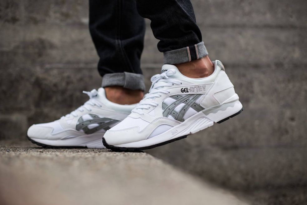 "sports shoes 3b8c4 1b1b8 ASICS Gel-Lyte V ""White/Light Grey"" 