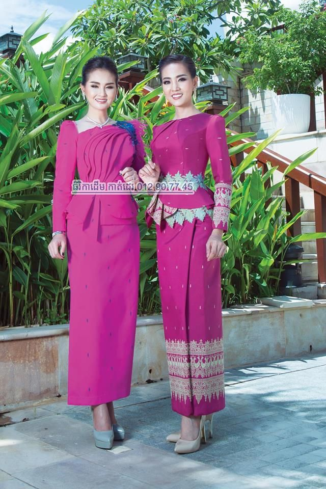 khmer traditional dress | cambodia / khmer traditional dress | Pinterest