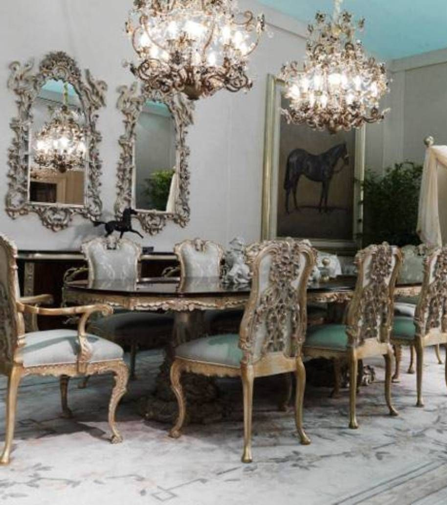 Dining Room Elegant Victorian Style Dining Room Victorian Style Dining Room With Double Fireplace Victorian Dining Tables Dining Table Chairs Dining Table
