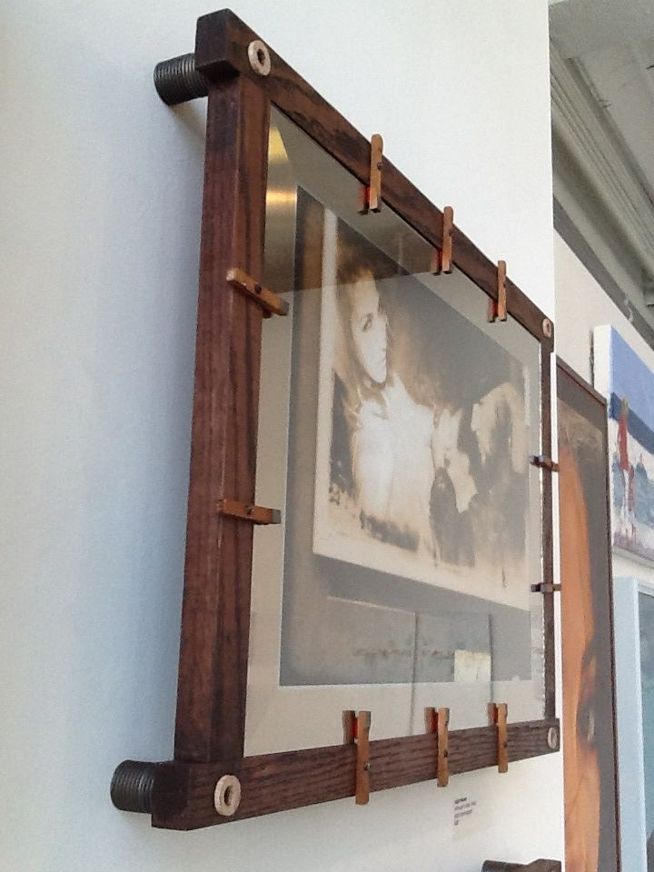 Art Frame for Leigh Moose of Side Yard Studio, Raleigh, NC (white ...