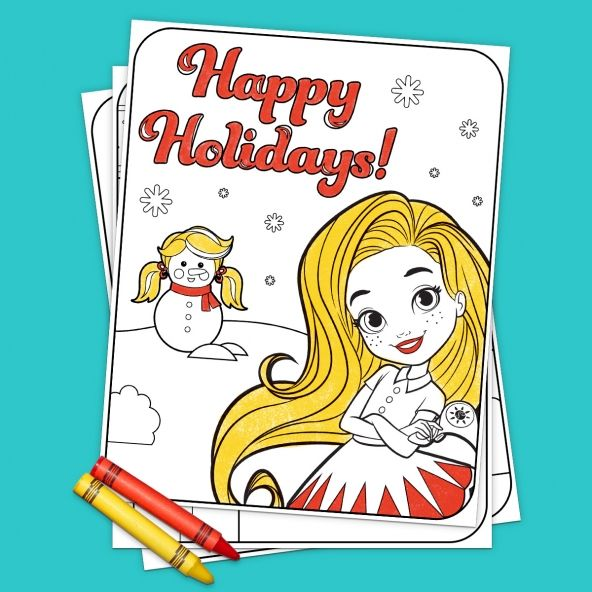 Sunny Day Holiday Coloring Pack in 2018 | Sunny Day Printables ...
