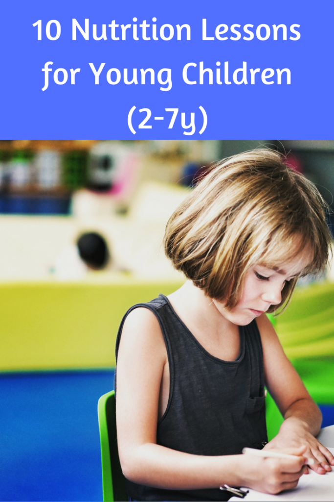 Age Appropriate Nutrition Lessons for Young Children (2-7y 10 Age Appropriate Nutrition Lessons for Young Children (2-7y) via 10 Age Appropriate Nutrition Lessons for Young Children (2-7y) via
