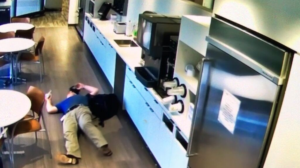 New Jersey Man Caught Faking Slip And Fall For Insurance Money