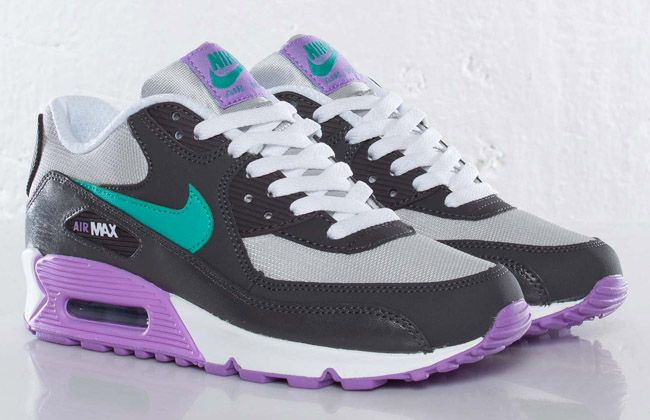 Nike Air Max 90 Purple And Green