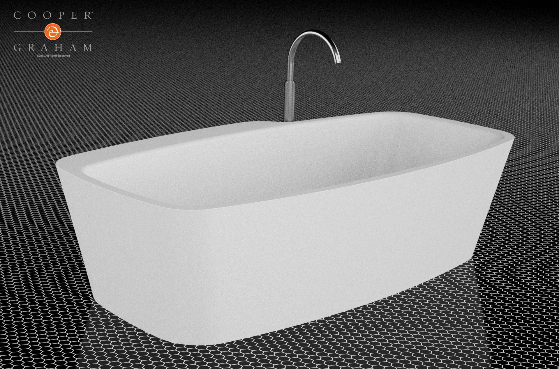 Plateau Tub by Cooper & Graham