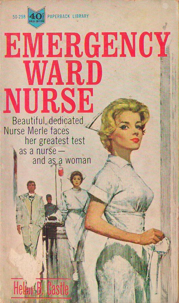Cover illustration by Lou Marchetti  Nursing romance and pulp