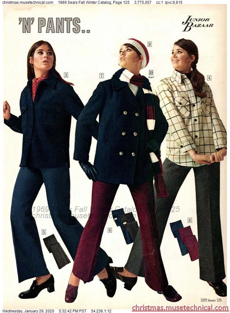 1969 Sears Fall Winter Catalog, Page 125 - Christm
