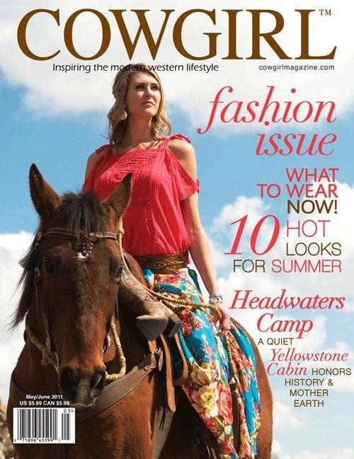 COWGIRL Magazine Home   Facebook