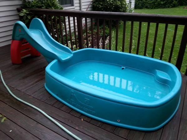 Step 2 big splash center pool slide For sale - Yakaz | Fun | Pool ...