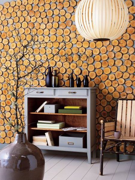 10 Original Wood Slices Decor Ideas Shelterness Spaces