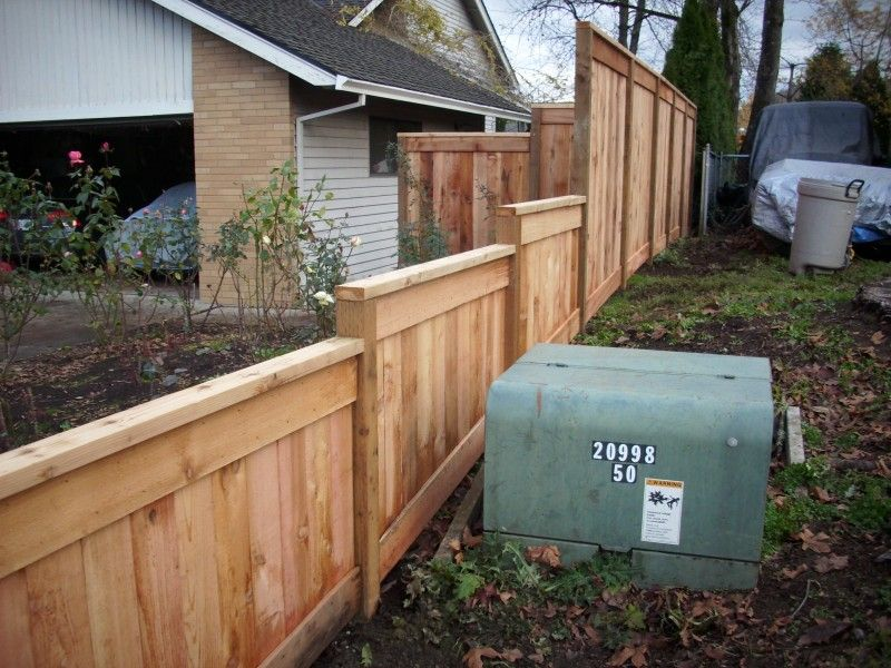This fence gives a little privacy between the two for Privacy from neighbors ideas