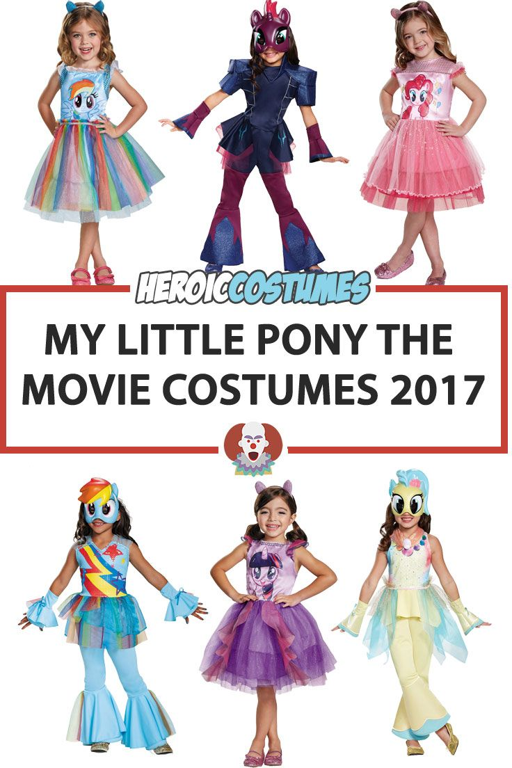 my little pony the movie costumes are here! find out my little pony