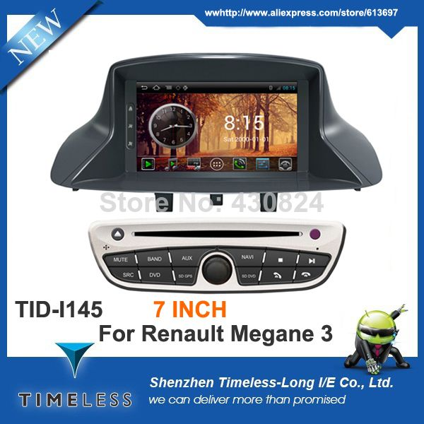 "timeless-long android 4.0 os 3g wifi 7"" touch screen car dvd for"