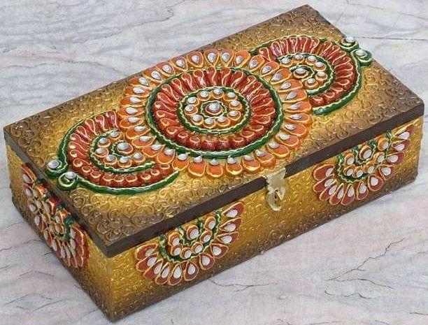 Decorate Jewelry Box Beauteous My Ictures  Caixas Decoradas  Pinterest  Box Design Ideas