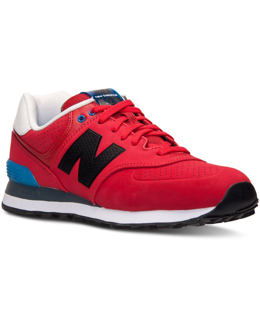 men's new balance 574 acrylic casual shoes