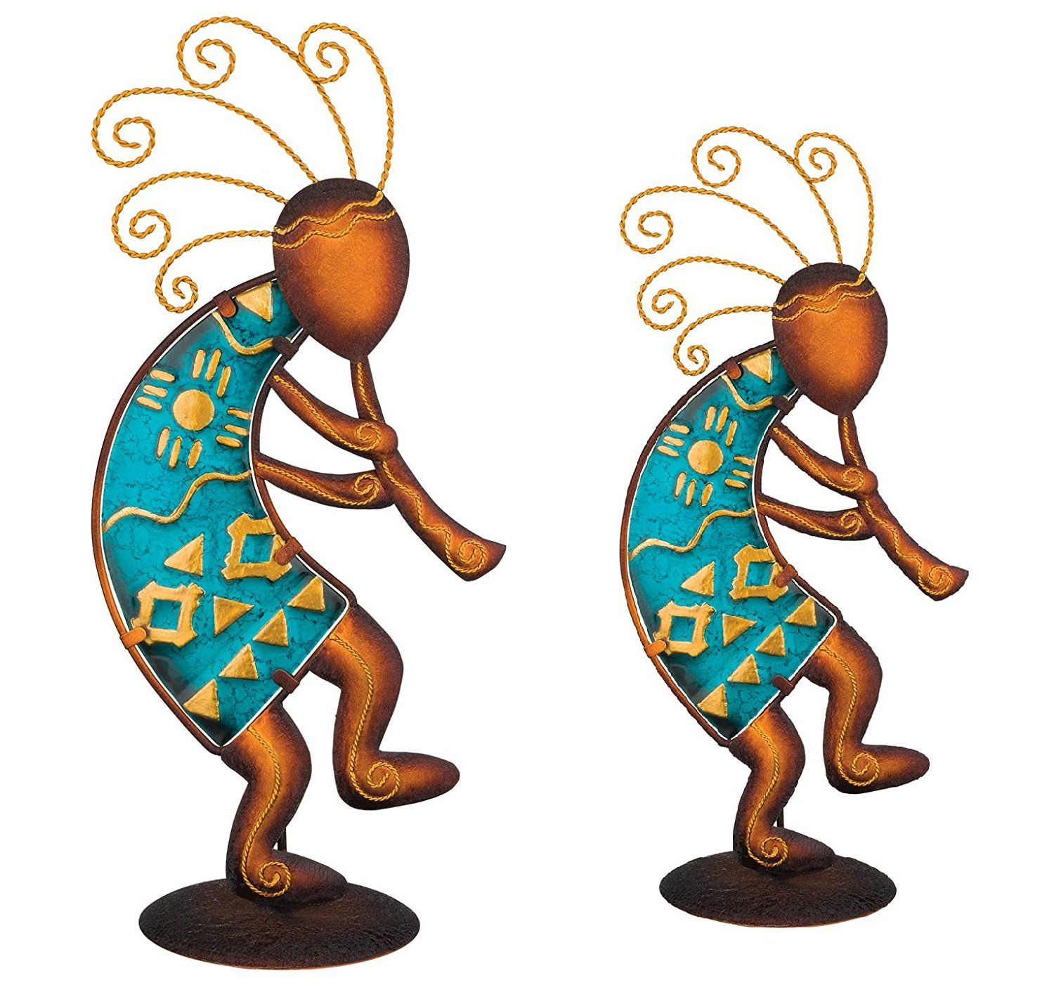 "Regal Art & Gift Southwest Kokopelli Decor - 12"" and 15"".Decorate the walls of your home, office or garden with this wonderful piece of hanging art. Indoor Outdoor use"