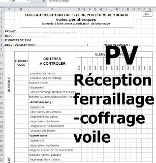 Exemples De Pv De Reception De Coffrage Et Ferraillage Geniecivil Batiment Construction Btp Ferraillage Coffrage Reception Genie Civil