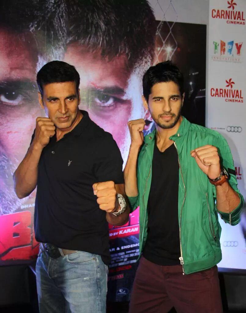 Akshay Kumar & Sidharth Malhotra promote their film