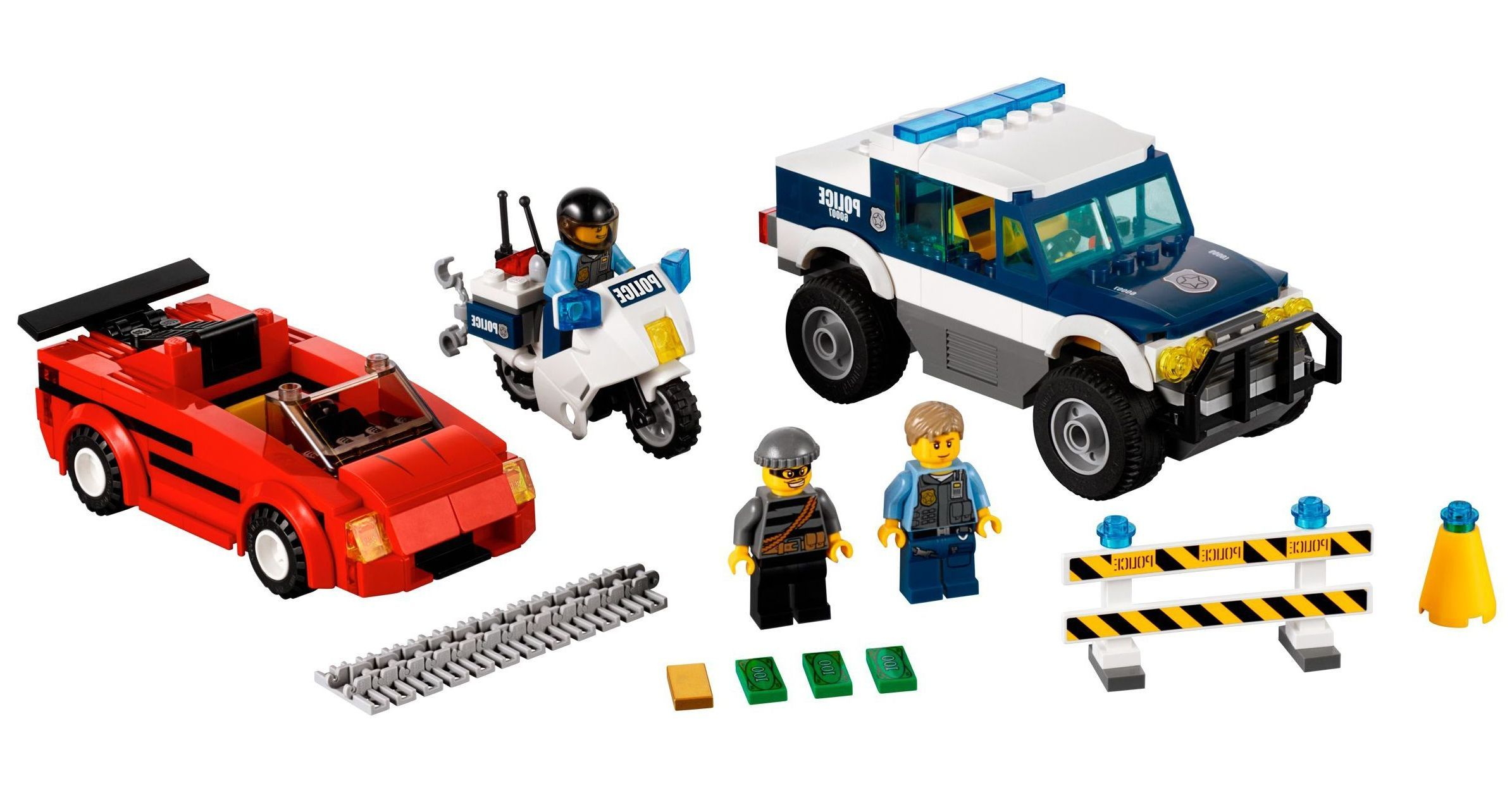 Pin lego 60032 city the lego summer wave in official images on - Lego Police City Chase
