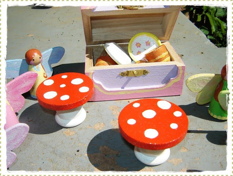 The Mama Dramalogues: Crafty Project: Little Fairy Peg Dolls