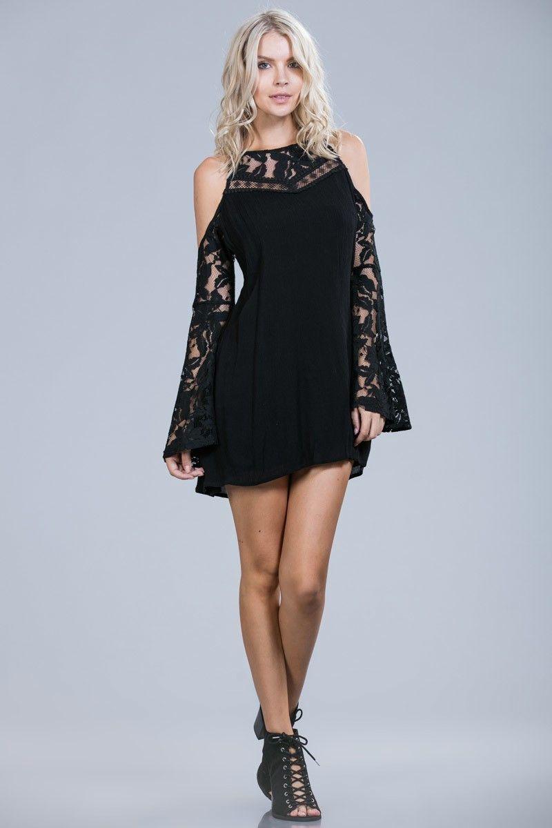 Mackenzie Black Lace Party Dress   Fashion Picks - Holiday 2016 ...