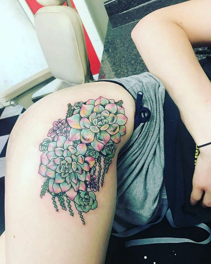 139 Awesome Succulent Tattoo Ideas For People Who Are
