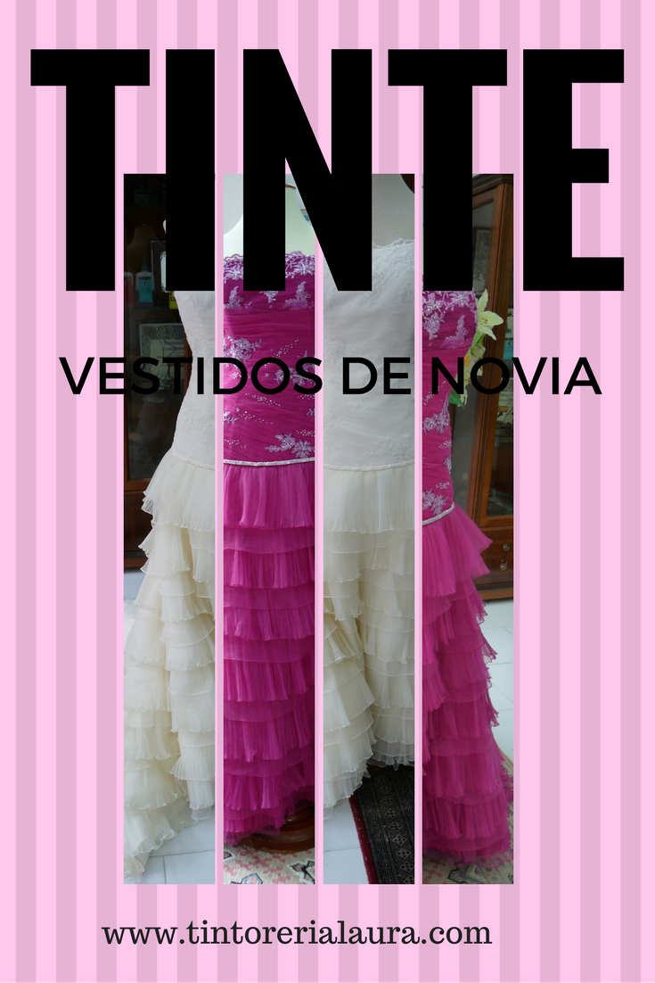 boda #novias #teñir #vestidonovia #novia #teñirnovia #teñido ...
