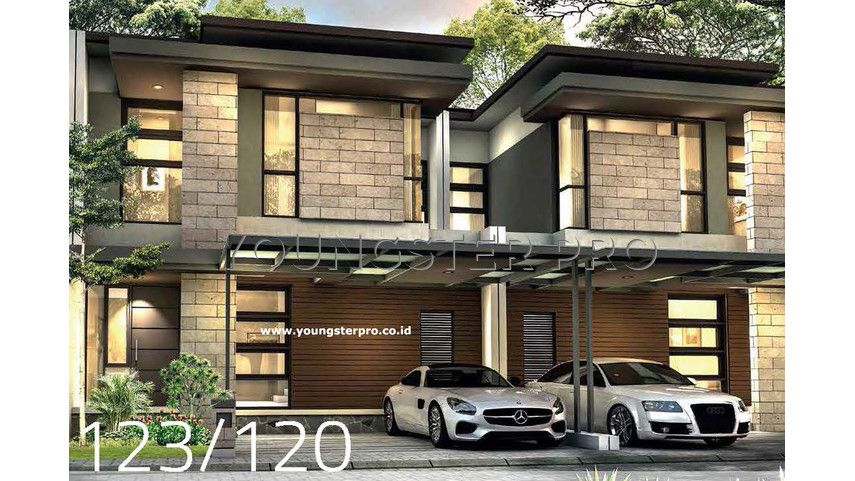 Aksara House Vanya Park BSD City Tangerang Rumah, House