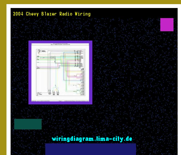 2004 chevy blazer radio wiring  wiring diagram 1934  - amazing wiring  diagram collection