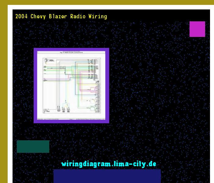2004 Chevy Blazer Radio Wiring Wiring Diagram 1934 Amazing Wiring Diagram Collection Chevy Radio Blazer