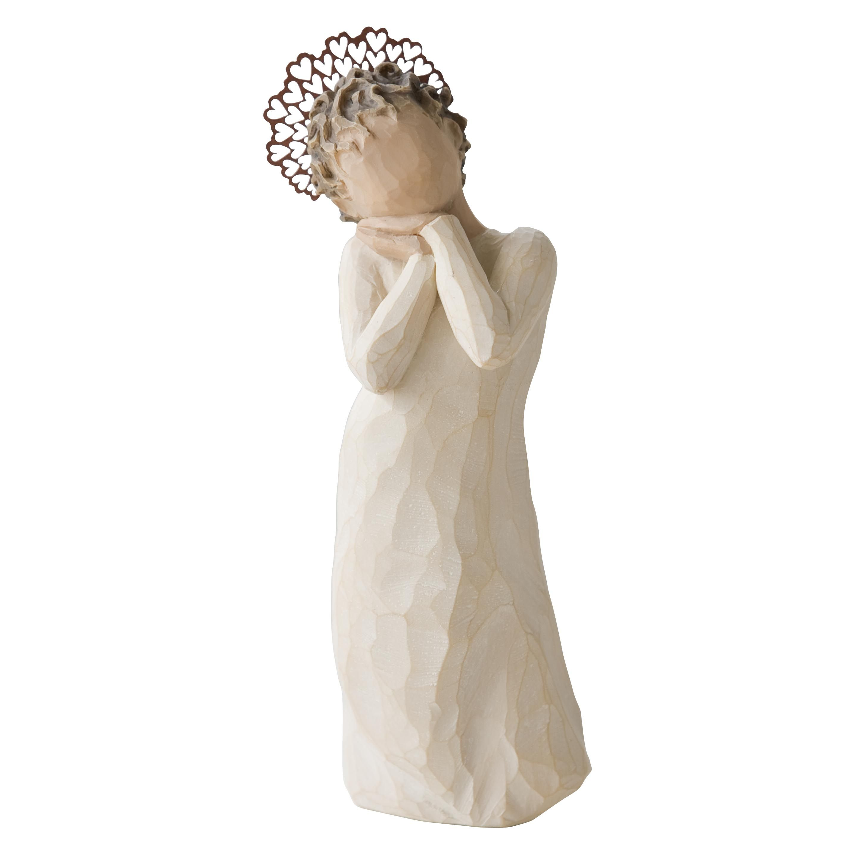 extremely inspiration new home gifts. Beige colored angel figurine that represents love  Measures H Angel Love by Willow Tree Demdaco Home Gifts Decor Decorative Objects Dallas 26234 So happy to and be loved joy WillowTree