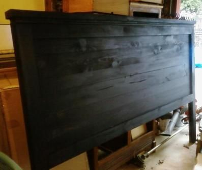 Reclaimed Wood Headboard King Do It Yourself Home Projects From Ana White