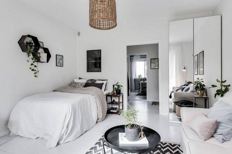 Epingle Par Planete Deco Sur Scandinavian Interior Deco Petit Appartement Deco Appartement Idee Deco Studio Etudiant