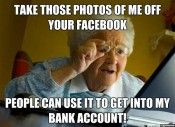 grandma on the internet