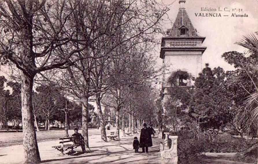 Postales De Valencia Alameda Valencia Historia De Valencia Ciudad De Valencia