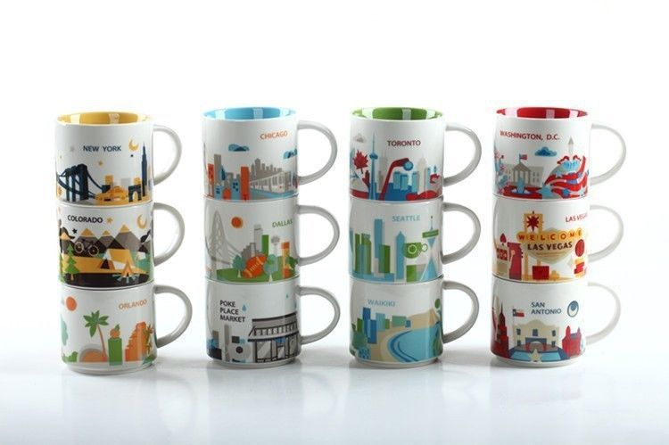 How To Collect Starbucks You Are Here And City Mugs