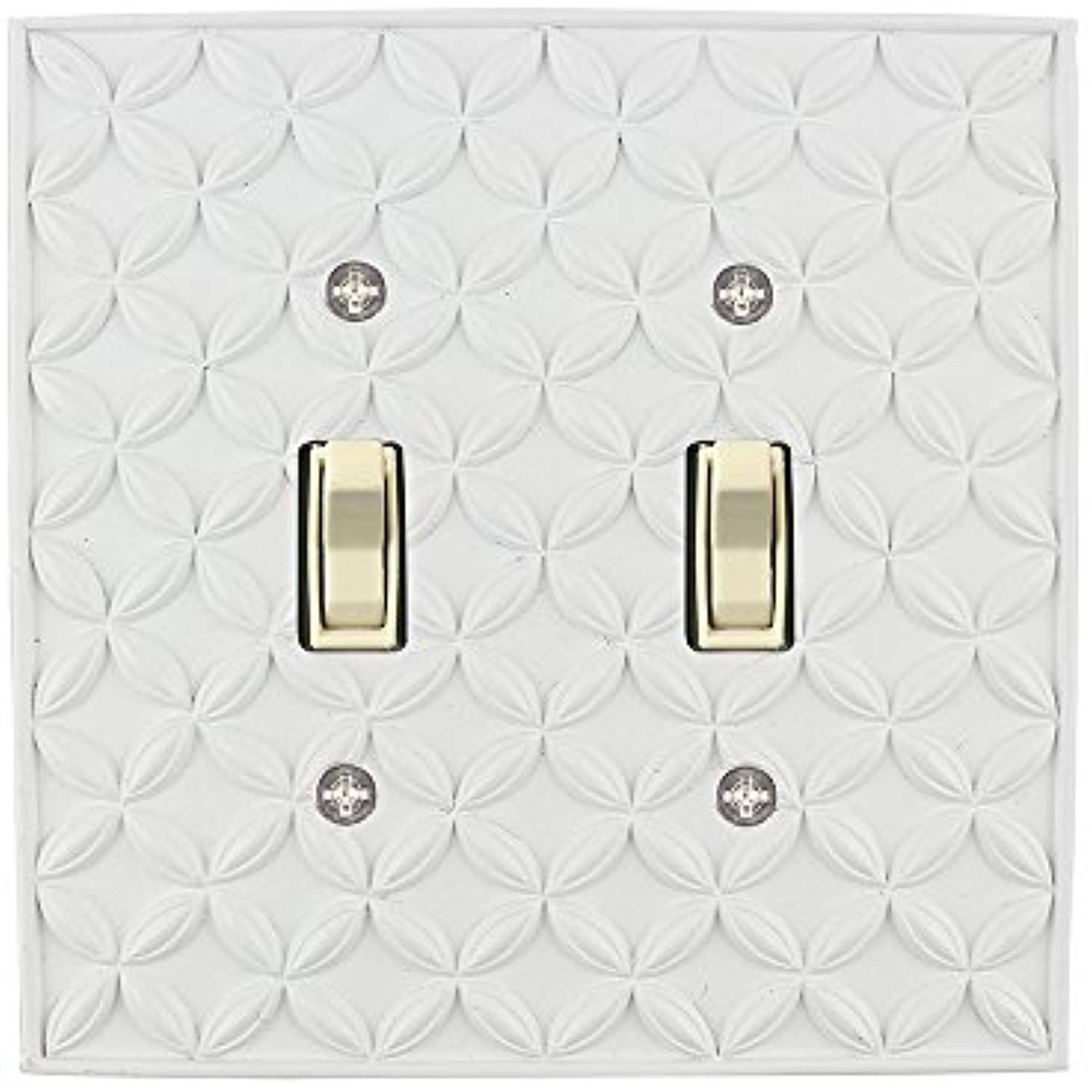 Meriville Colfax 2 Toggle Wallplate Double Switch