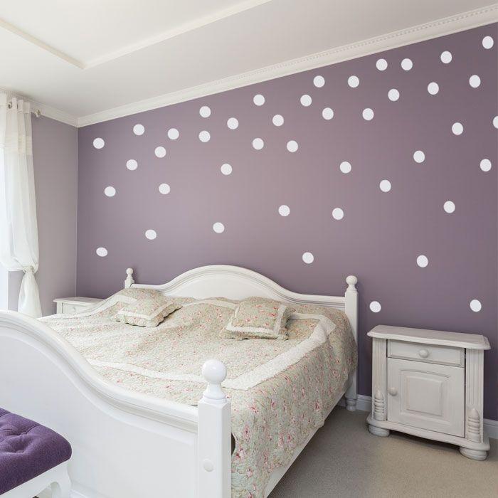 Polka Dot Wall Confetti Set Of Polka Dot Wall Decals Decor - Wall decals polka dots