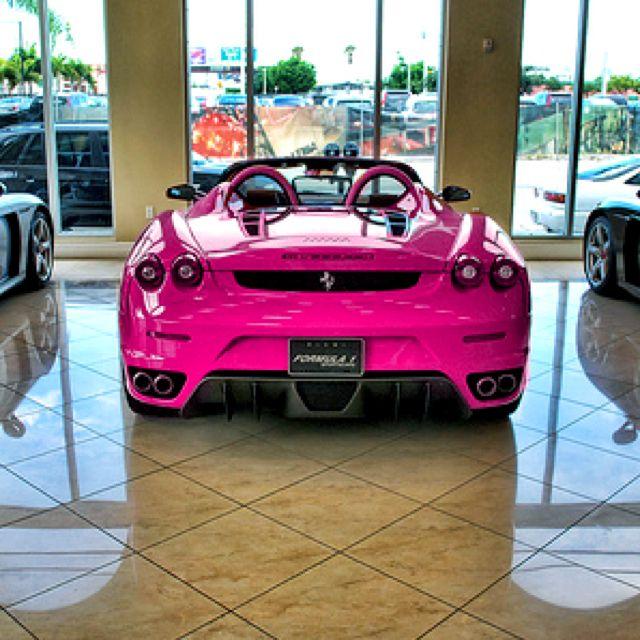 Pink Ferrari. Yes I do believe I need you. ASAP.