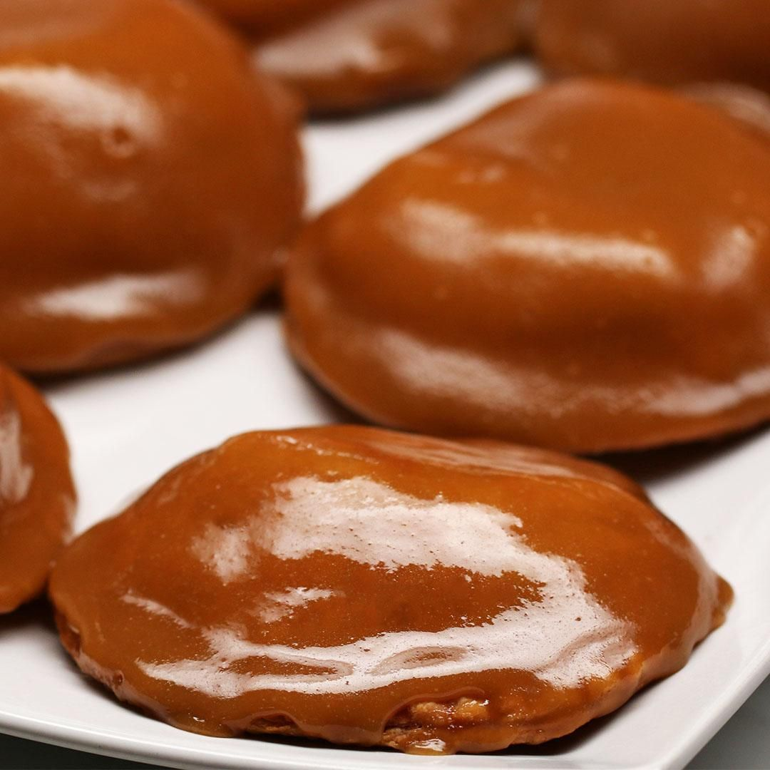 Caramel Apple Hand Pies With The New Chase Freedom Flex Video Hand Pie Recipes Desserts Apple Hand Pies