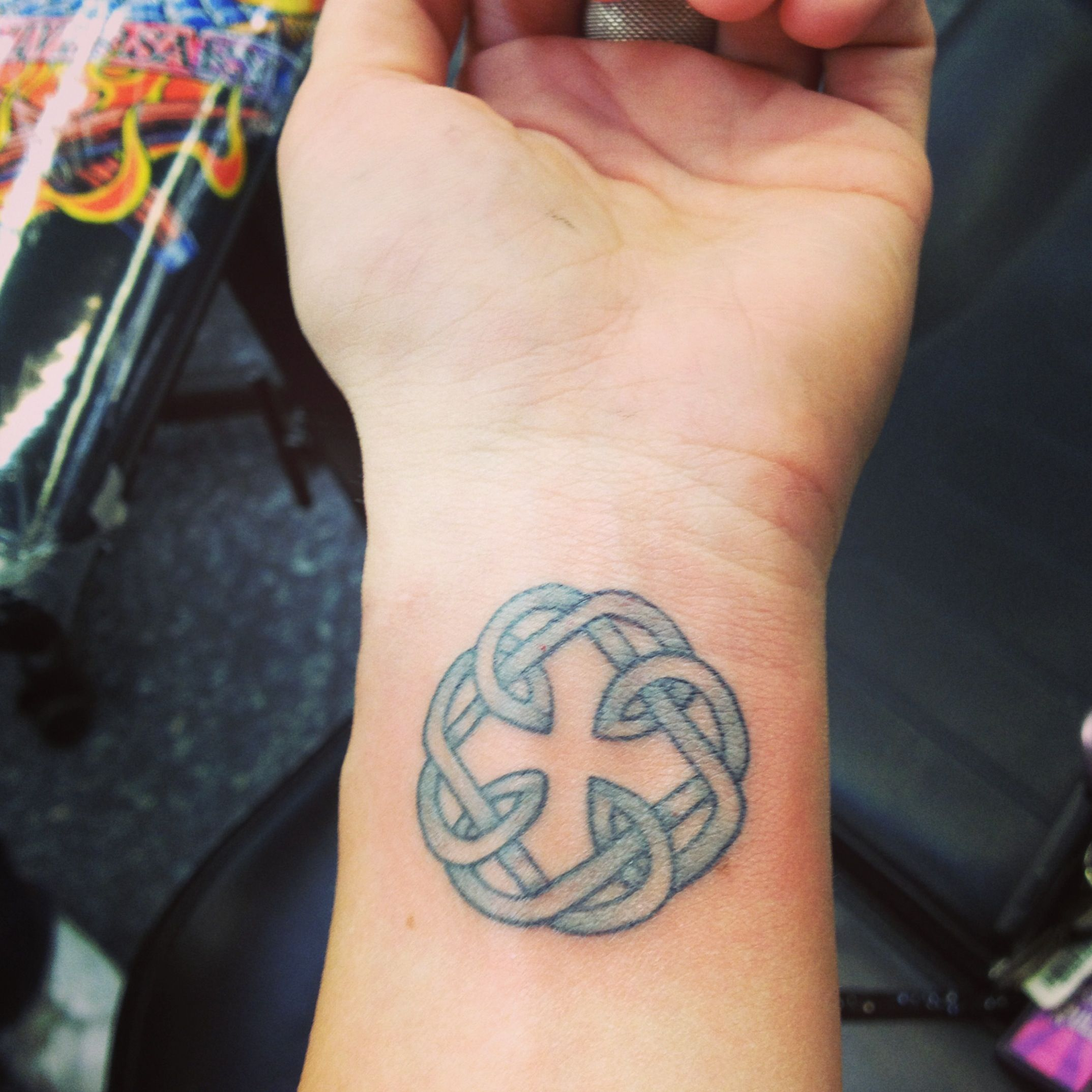 Father daughter celtic symbol because my father passed on the dad memorial tattoos biocorpaavc Image collections