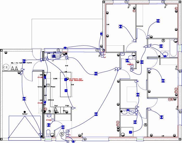 Plan Electrique Maison Logiciel Schema Electrique 14