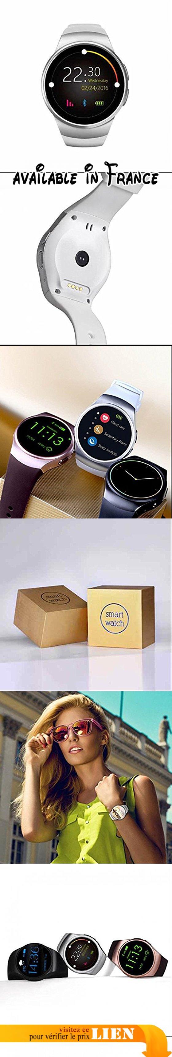 Bluetooth montre intelligente élégants,montre intelligente