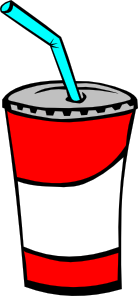 Soft Drink In A Cup clip art - vector clip art online, royalty free & public domain