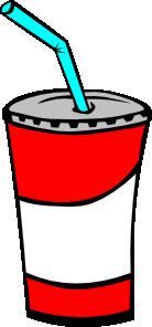 Soft Drink In A Cup Clip Art Vector Clip Art Online Royalty Free Public Domain Buku Mewarnai Warna Gambar