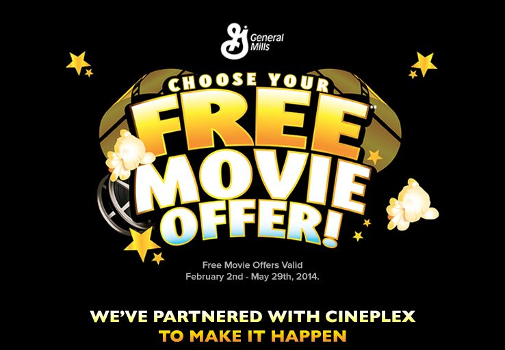 General Mills Movie offer. Click the pic to get the #deal