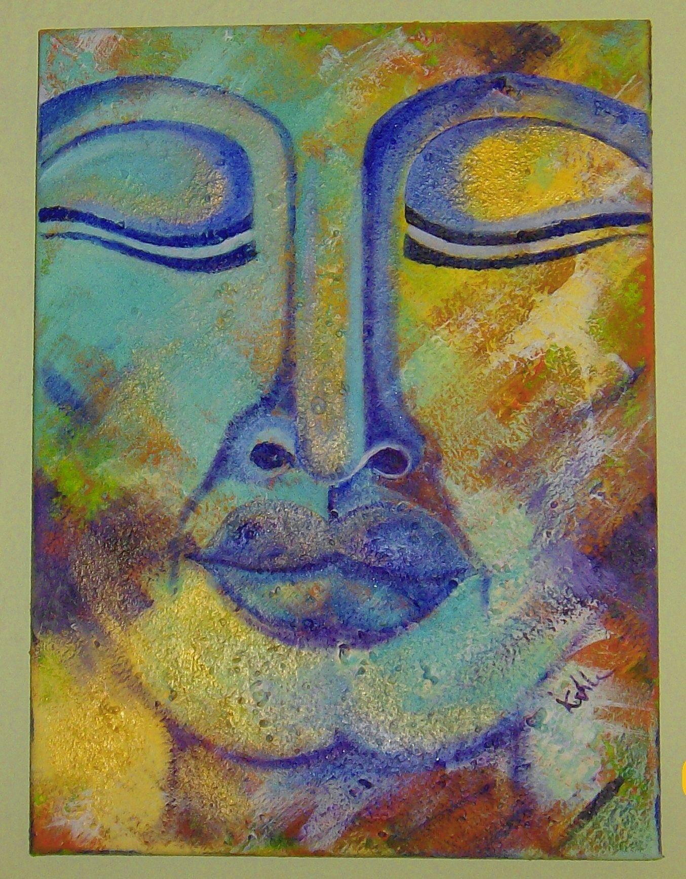 buddha acryl malvorlagen