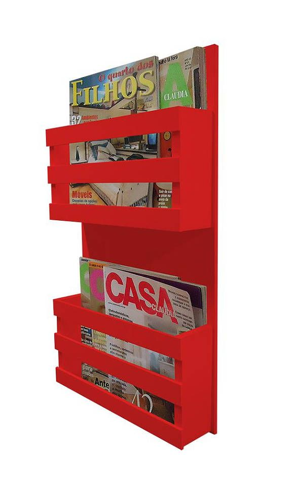 magazine wall hack book magazine holder lacquered moveis on wall hacks id=55662